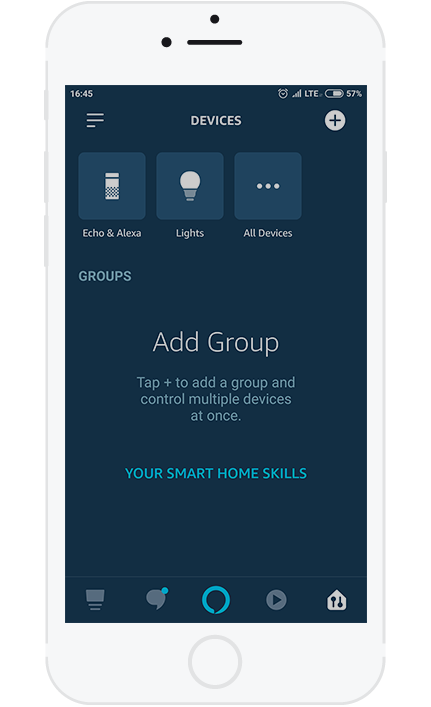2. To control your HOMEEMITY via phone, first you have to select the device.
